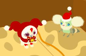 クリスマスのプーケさん